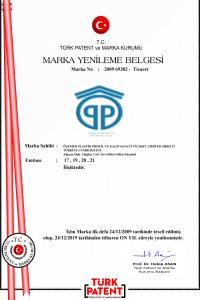ÖZEMEK-PLASTİK-MARKA-TESCİL-BELGESİ